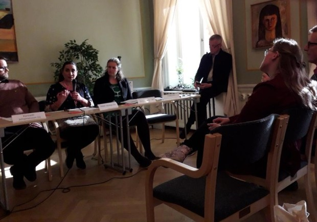 EU-debatt - Fredrik Holm